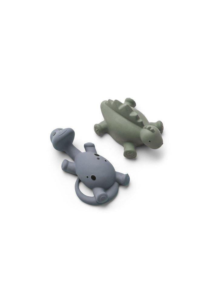Algi Bath Toys Blue Mix