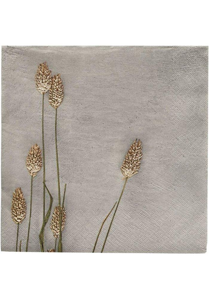 Paper Napkin Grass 02