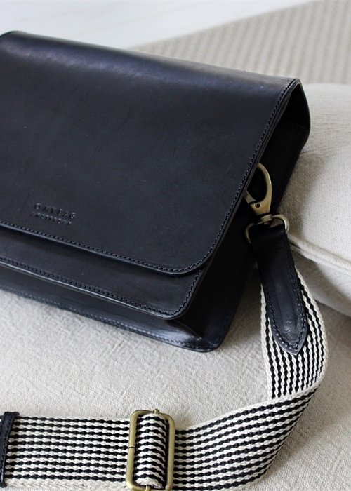 O My Bag Audrey Black Classic Leather