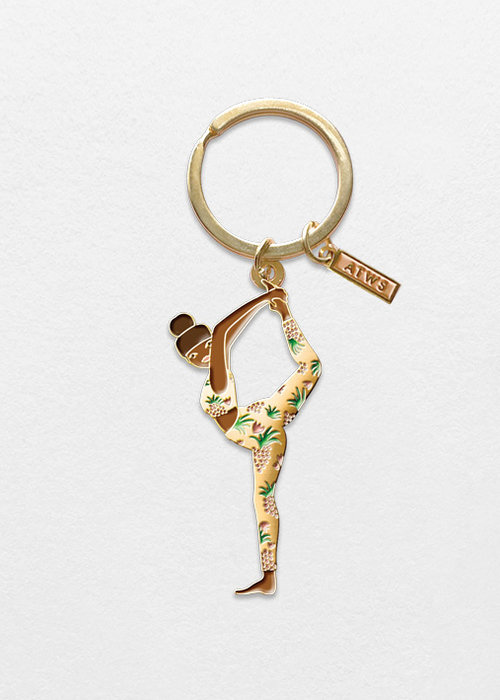 All the ways to say Yoga Keychain