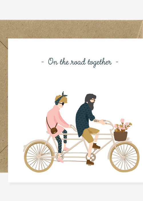 All the ways to say On the road together