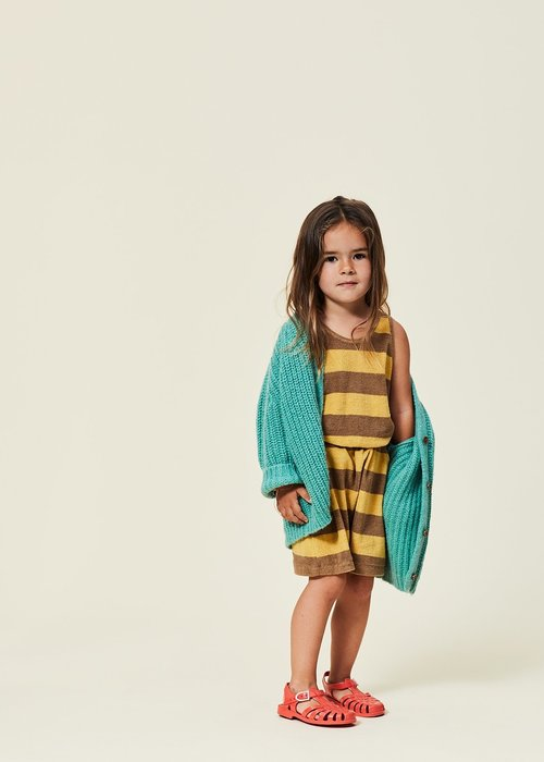 Maed For Mini Swanky Snake Cardigan
