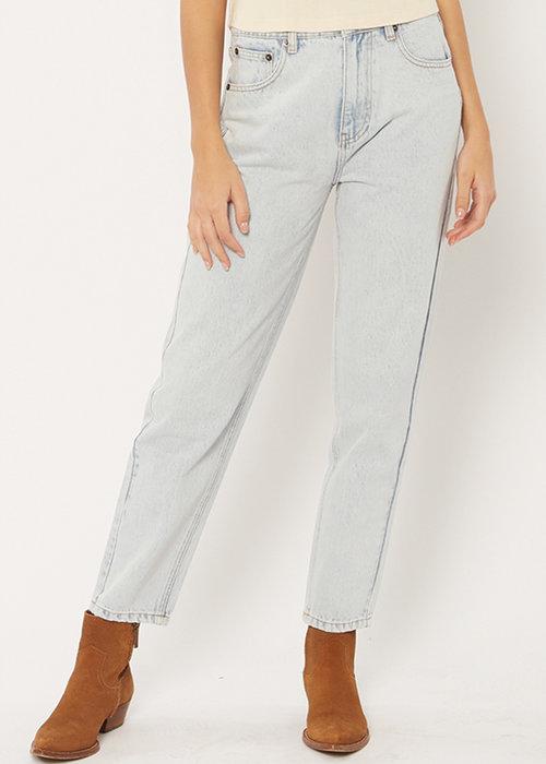 Amuse Society Stella Denim Pants Sunfade Wash