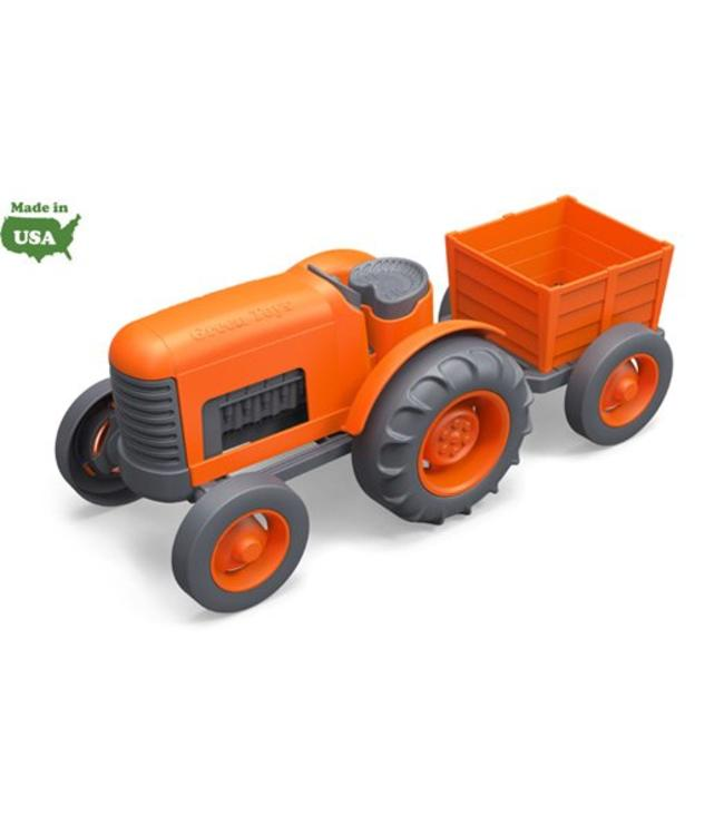 Green Toys Green Toys Traktor orange-schwarz