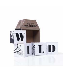 Wee Gallery Wee Gallery Play House Art Blocks Wild