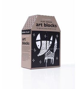 Wee Gallery Wee Gallery Play House Art Blocks Grow