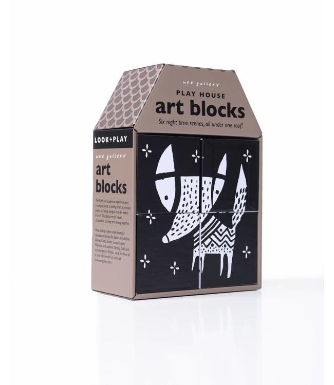 Wee Gallery Wee Gallery Play House Art Blocks Grow