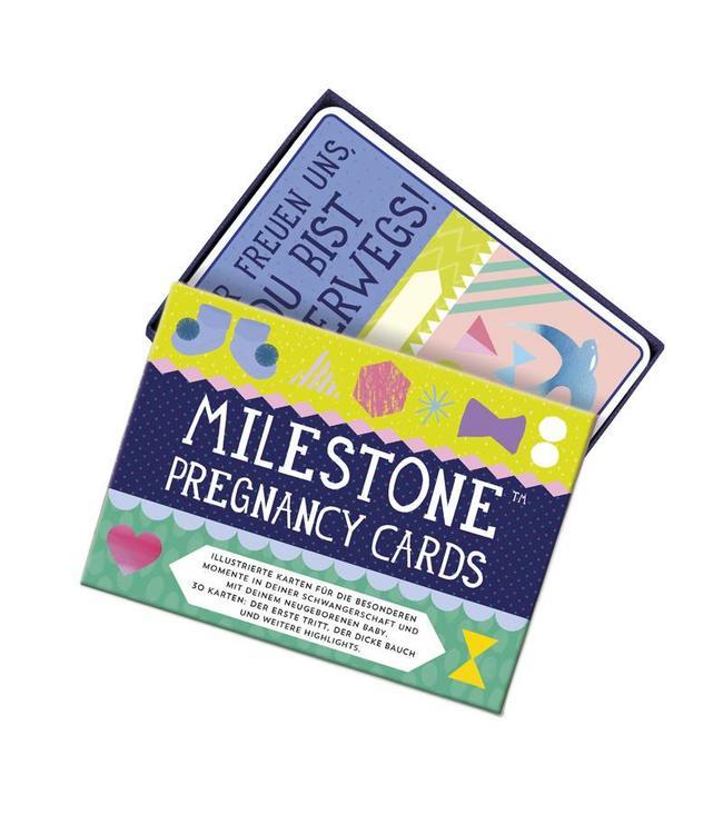 Milestone Milestone Pregnancy Cards