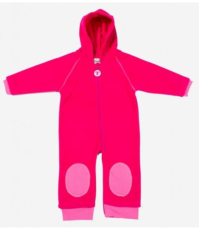 Ducksday Ducksday Fleece-Anzug fuchsia