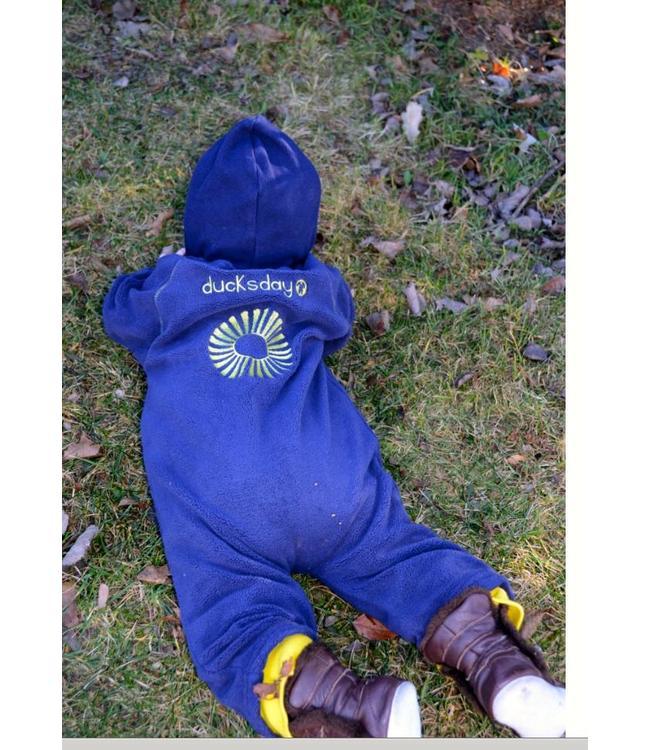 Ducksday Ducksday Fleece-Anzug blau