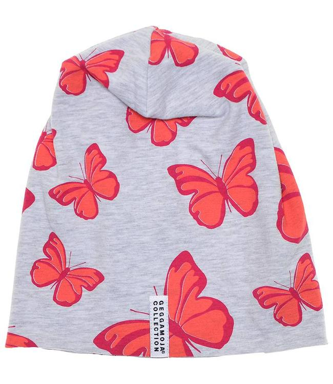 Geggamoja Geggamoja Mütze Limited Edition Fleece Butterfly