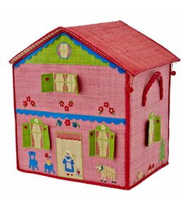 RICE Rice Spielzeugkiste Girls Cottage gross