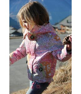 Ducksday Ducksday Detachable Fleece Jacke Milsyl pink