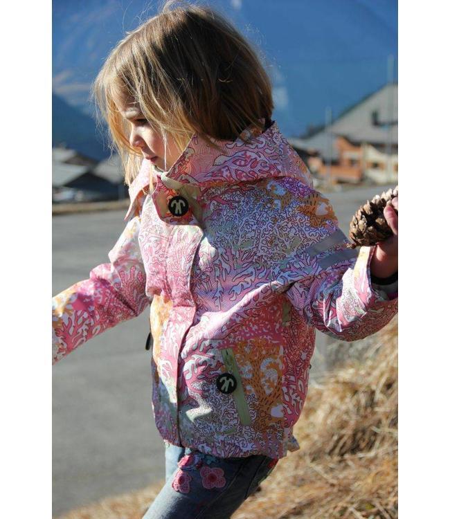 Ducksday Ducksday Detachable Fleece Jacke Milsyl pink