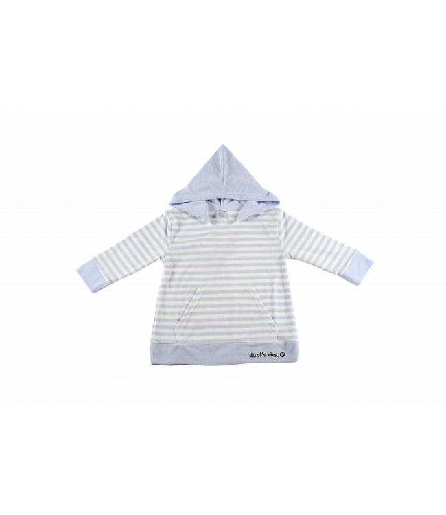 Ducksday Ducksday Poncho blue stripe