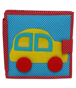 Jolly Designs Quiet Book - Das Rennauto