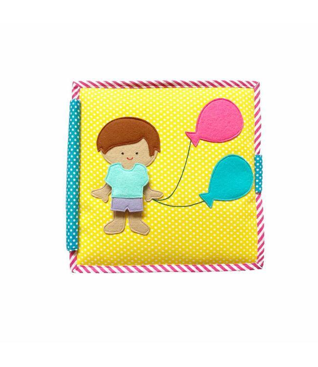 Jolly Designs Quiet Book - Ballon Junge