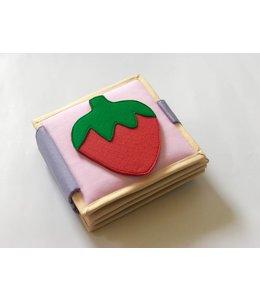 Jolly Designs Quiet Book - Regenbogen - Mini