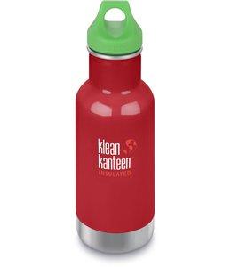 Klean Kanteen Kid Kanteen Trinkflasche Vakuumisoliert Mineral Red 355 ml