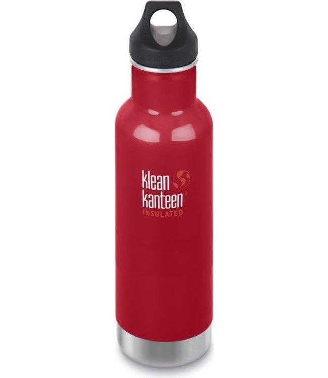 Klean Kanteen Klean Kanteen Trinkflasche Vakuumisoliert Mineral Red 592 ml