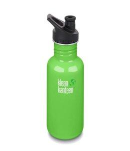 Klean Kanteen Klean Kanteen Trinkflasche Classic mit Sport Cap Spring Green 532 ml