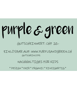 Geschenk-Gutschein CHF 20.-