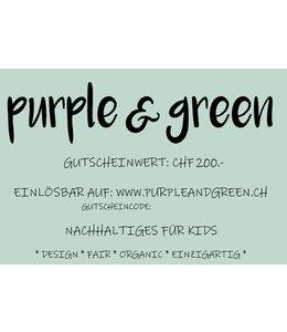 Geschenk-Gutschein CHF 200.-