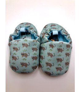 Mama Siesta Tiny Toes Shoes - Waschbär