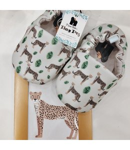 Mama Siesta Tiny Toes Shoes - Leopard