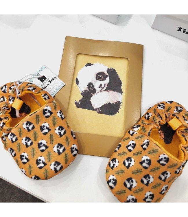 Mama Siesta Tiny Toes Shoes - Panda