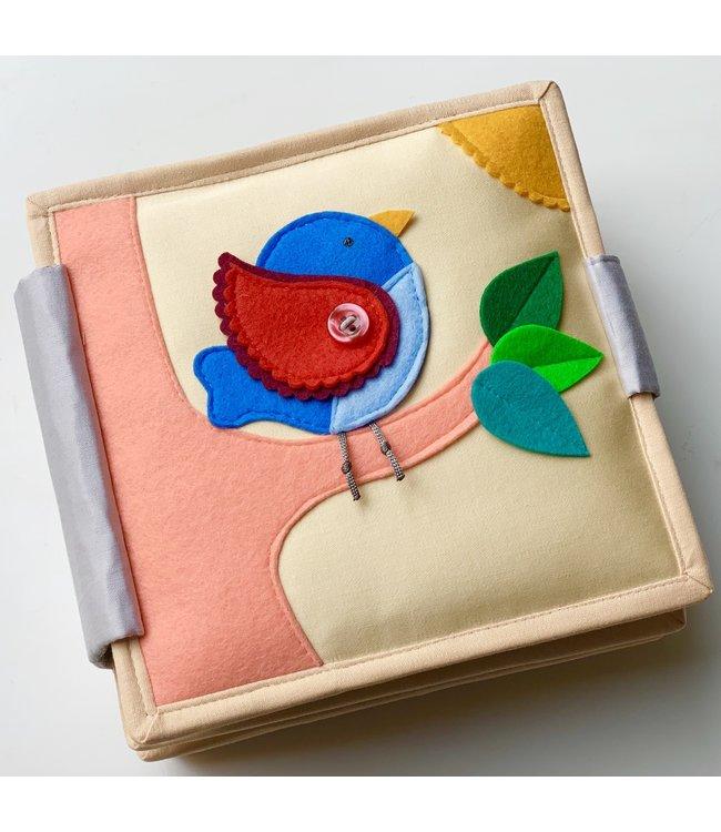 Jolly Designs Quiet Book - Magic Bird-Mini