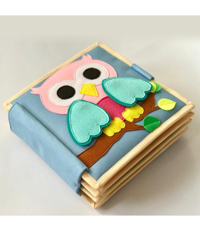 Jolly Designs Quiet Book - Die junge Eule