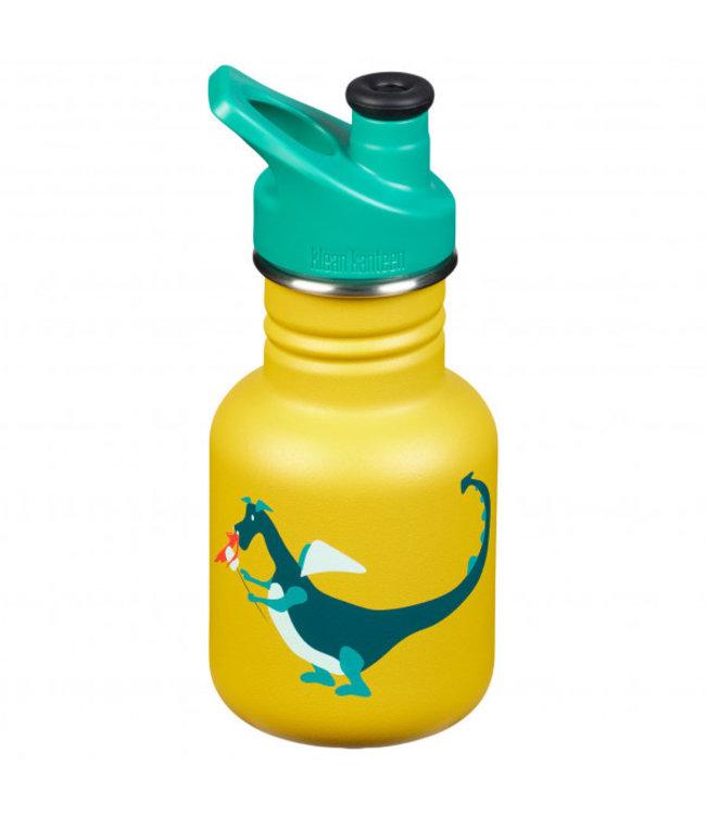 Klean Kanteen Kid Kanteen Trinkflasche Sport Cup Dragon Snack 355 ml