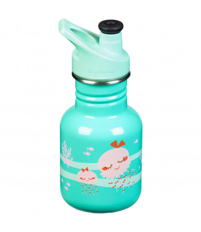 Klean Kanteen Kid Kanteen Trinkflasche Sport Cup Jellyfish 355 ml