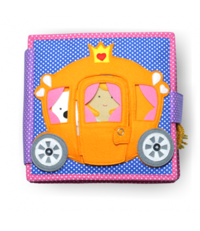 Jolly Designs Quiet Book - Prinzessin