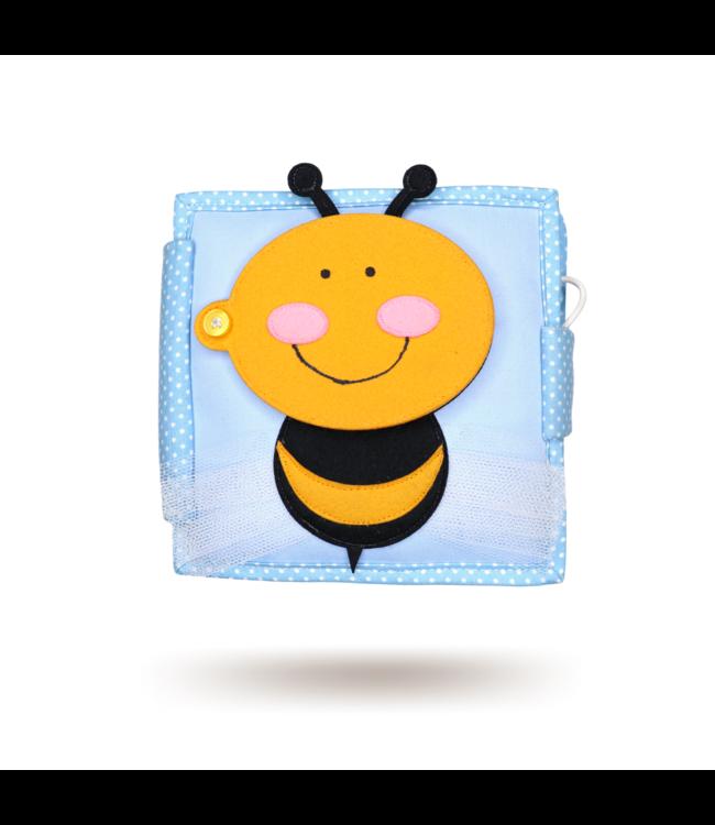 Jolly Designs Quiet Book - kleine Biene-Mini