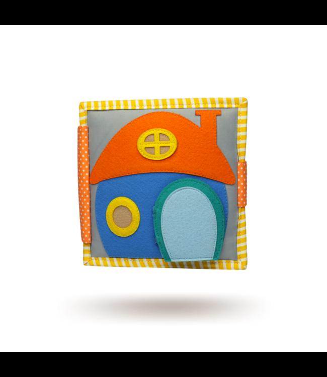 Jolly Designs Quiet Book - Home sweet home-Mini