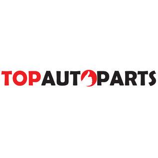 Topautoparts Einddemper, Uitlaat Citroen C2, C3