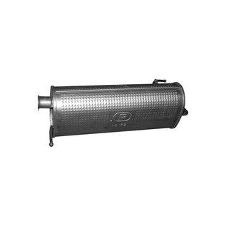 EEC Exhaust, Rear silencer Hyundai i20