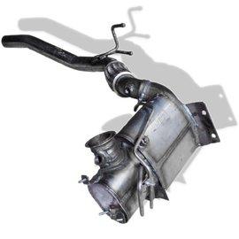 Topautoparts Roetfilter Audi Q3, Volkswagen Tiguan 2.0 TDi