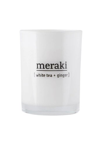 Meraki Candle White Tea & Ginger