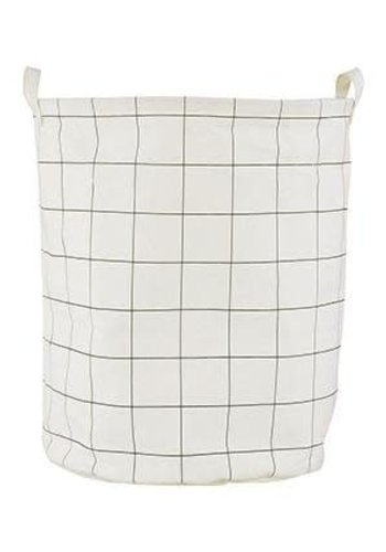 House Doctor Laundry Bag Grid