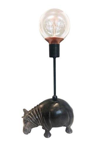 Vanillafly Lamp Table Hippo