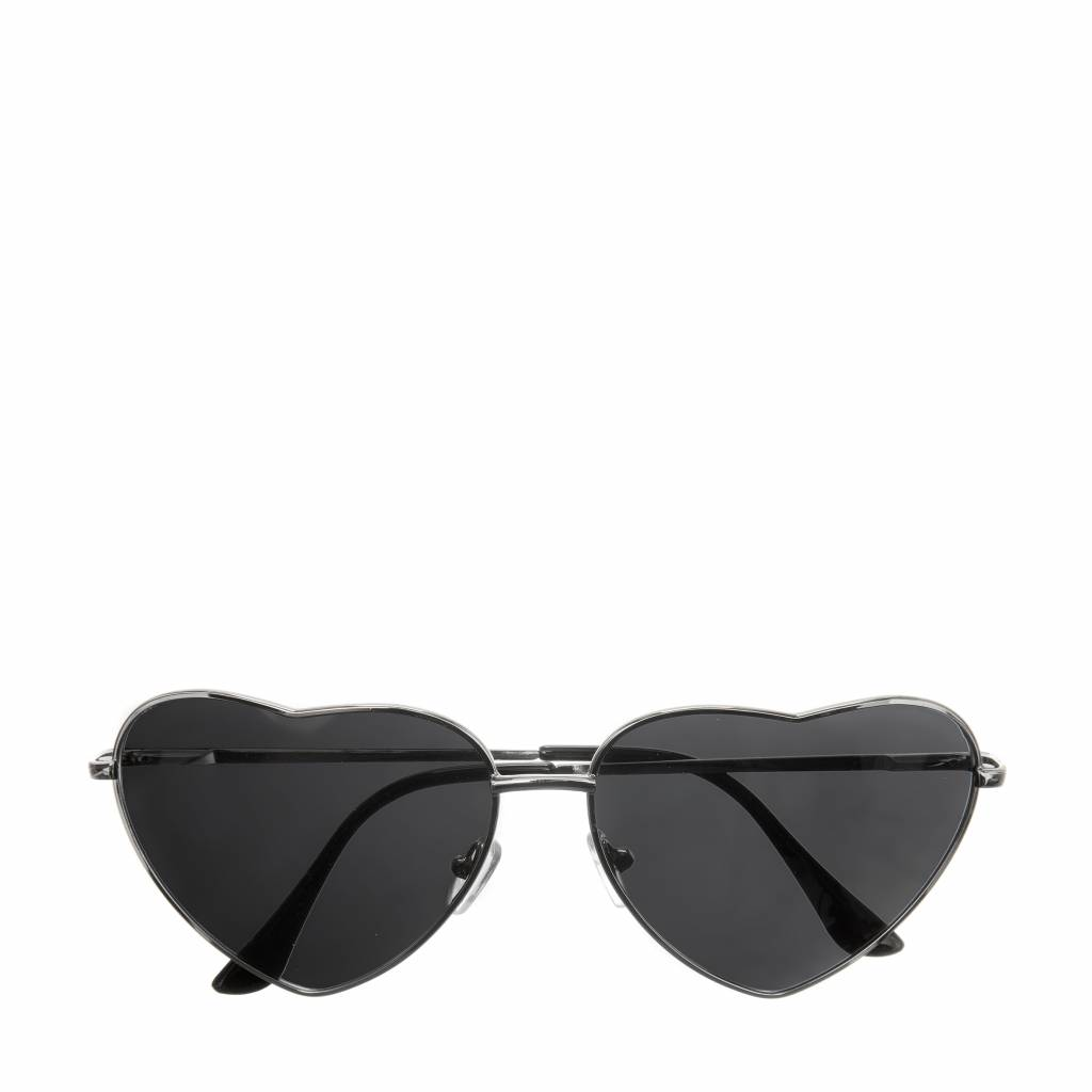 Holly Heart Sunglasses Black