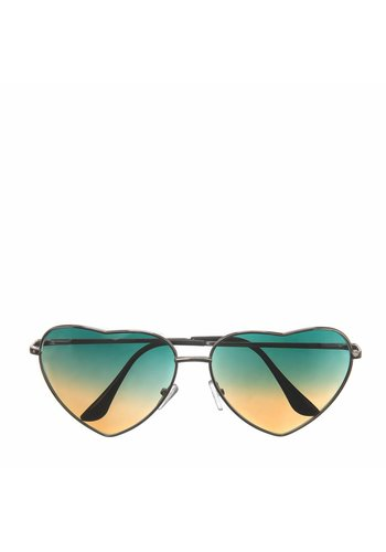 Les Soeurs Holly Heart Sunglasses Degradé