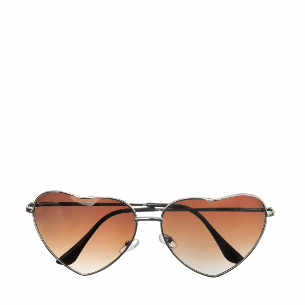 Holly Heart Sunglasses Brown
