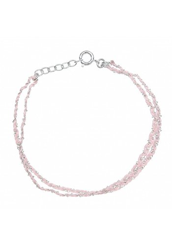 Les Soeurs Rina Double Light Pink Silver
