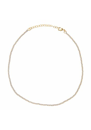 Les Soeurs Rani necklace Grey Gold