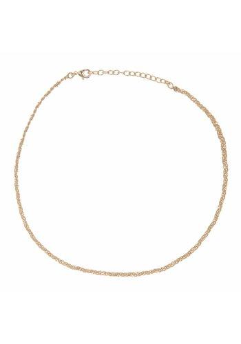 Les Soeurs Rani necklace Beige Gold