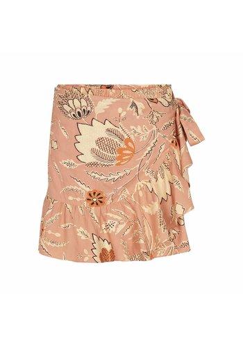 Second Female Fresco Skirt Dusty Pink